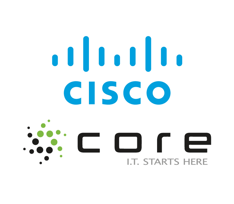cisco core stacked
